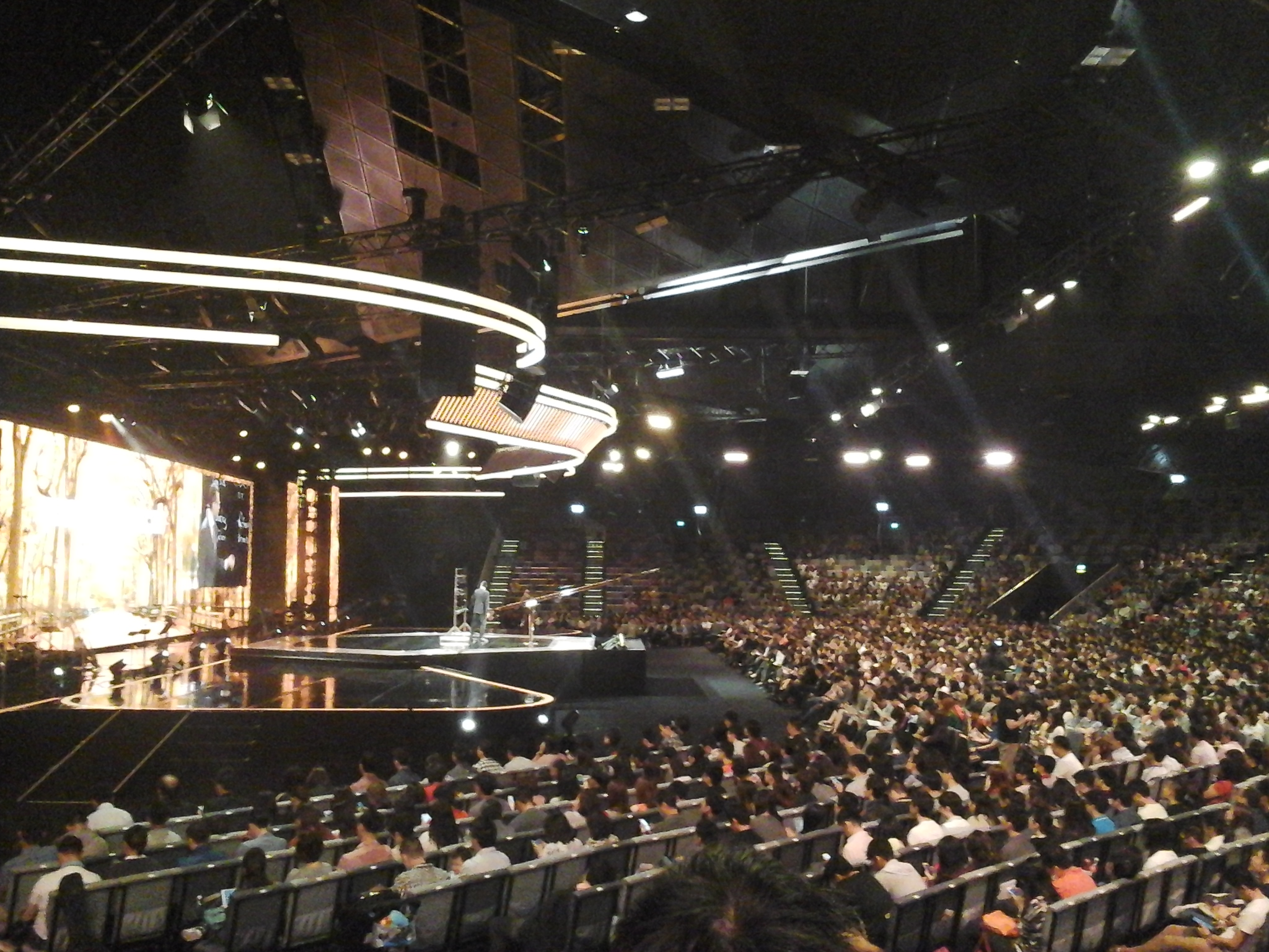A.R. Bernard preaching at City Harvest Church