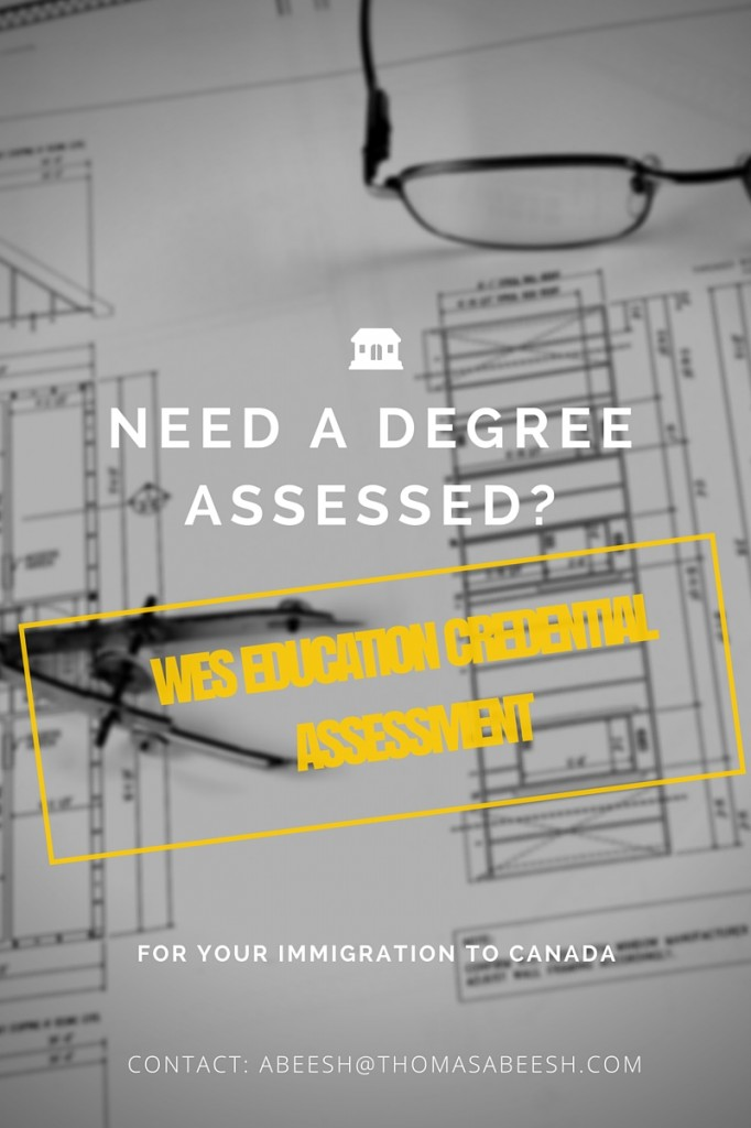 WES Education Credential Assessment